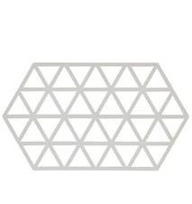 Triangles Grytunderlägg Warm Grey 24x14 cm