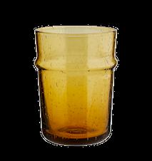 Dricksglas Bärnsten Stor