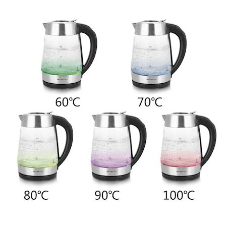 Vattenkokare 1.7 L Glas