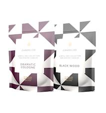 Doftljus Refill Black Wood/ Dramatic Cologne 2-Pack
