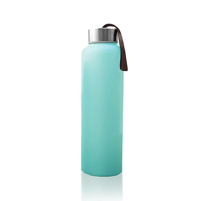 Vattenflaska i Glas med Splitterskydd M