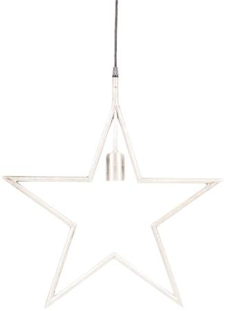 Tindra Hängande Stjärna Matt Vit 45cm