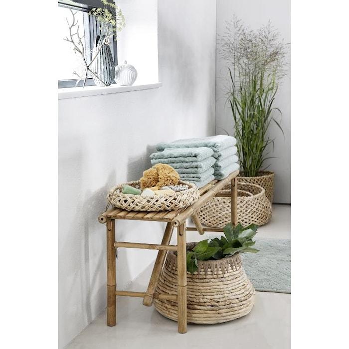 Tapis de salle de bains Laurilia turquoise