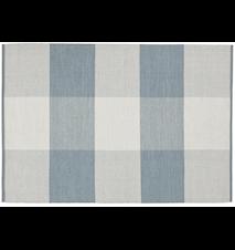Snowdrop matta – Light blue/off white