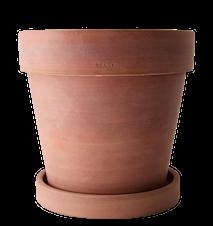 Kruka Rustik Terracotta m fat 28x25 cm