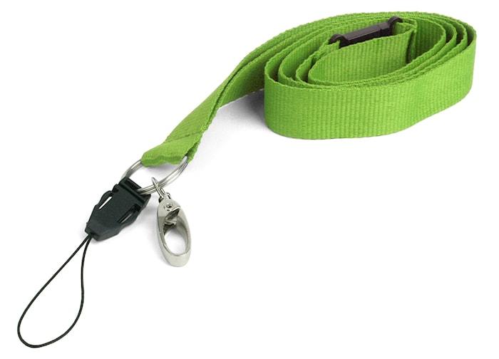 Nyckelband, lime
