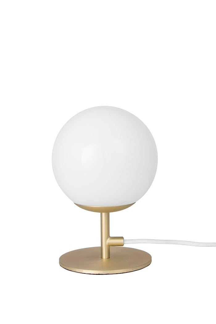 Bordslampa Luna - Borstad mässing