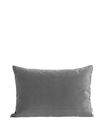 Pute Lush 40x60 - Mørkegrå