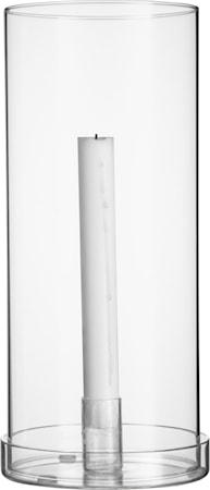Glaslykta för Kronljus 29 cm
