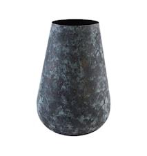 Vase, Sada, Blå/Grøn ,h: 50 cm, dia: 33 cm
