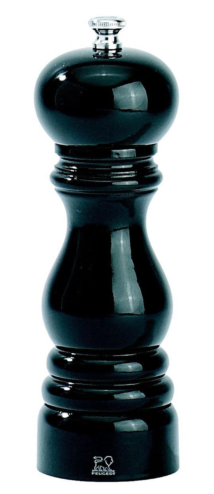 Paris Saltkvarn Svartlackerad 18 cm