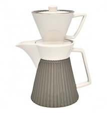 Alice Kaffekanna med filter Warm Grey