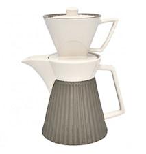 Alice Kaffekanna med filter Warm Grey