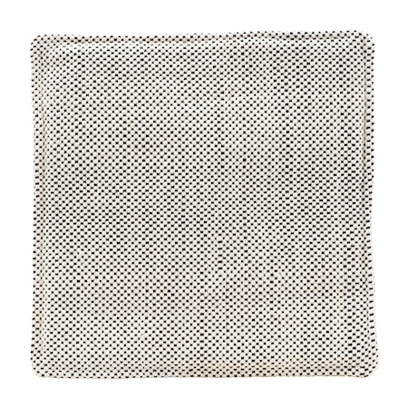 Stolsdyna Cuun Rutig Beige/Svart 35 cm