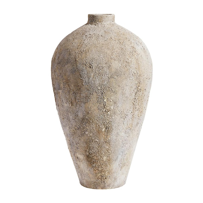 Luna Kruka Grå Terracotta 100x52cm