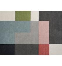 Tetris Teppe Powder 170x240 cm