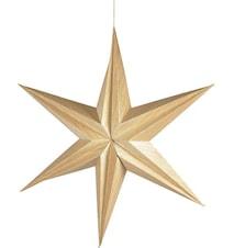 Dekor Stjerne 65 cm Natur
