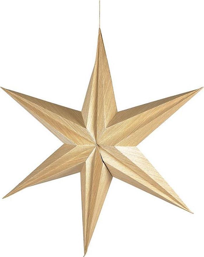 Dekor Stjärna 65 cm Natur