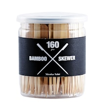 Bamboo Grillspett 160st H: 9cm