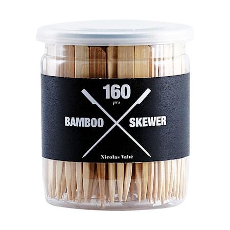 Bamboo Skewers, 160 st, h: 9 cm, dia: 10 cm