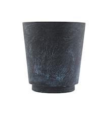 Blomsterkrukke Marble Effect Ø 24x26 cm - Blå