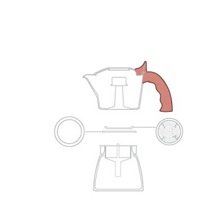 Håndtak til Brikka-2-kopp