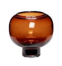Vase Glas Orange