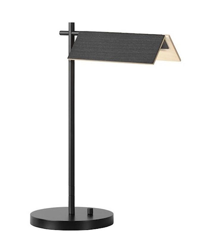 Svit Bordslampa Svart/trä 3000K