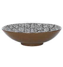 Vesta Salaattikulho Musta 35 cm