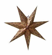 Silvia Julstjärna Burgundy/Guld 60 cm
