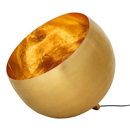Golvlampa Guld Metall Kupa