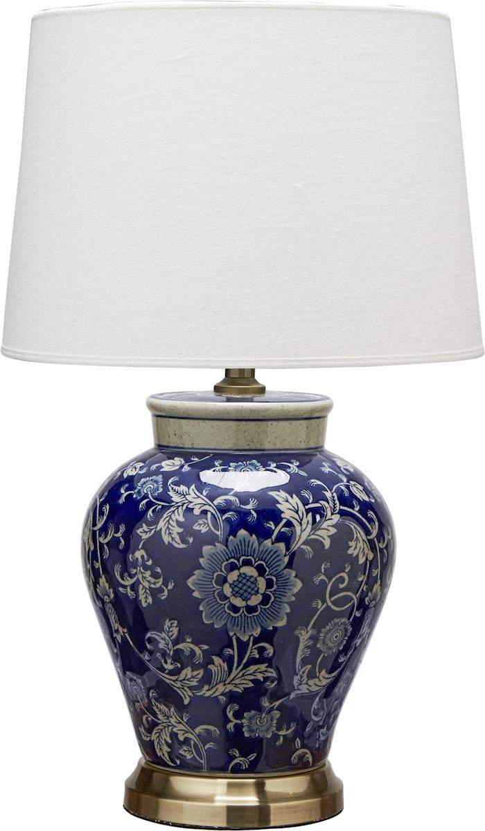Bordslampa Fang Hong Med Lampskärm Sofia