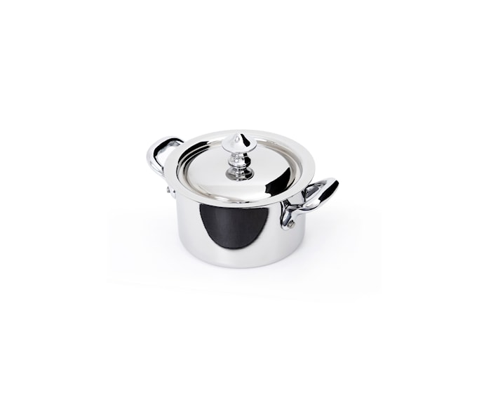 Cook Style Gryta med lock 0,3L Blank Stål