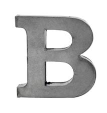 Bogstav B 5,5 cm - Zink