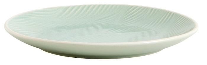 Tallerken LEAF Ø 20 cm - Lysegrøn