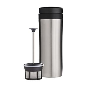Espro travel Pressmugg Borstat stål termo kaffe