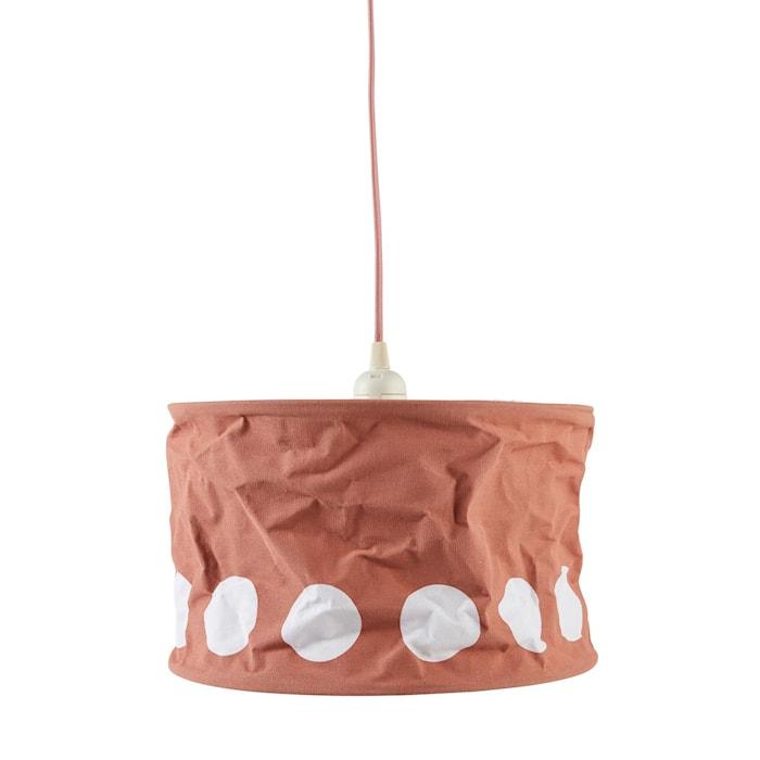 Kids Concept Lampskärm Dot mörk aprikos