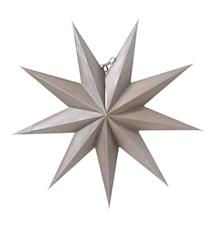 Boris Julstjärna Mörkgrå 50 cm