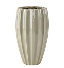 Vase - Dolomite - Ocean grøn - D 14,0cm - H 24,0cm - Stk.