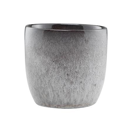 Handgjord Mugg Stone Grå