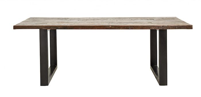 Matbord Trä/Järn 220x100cm