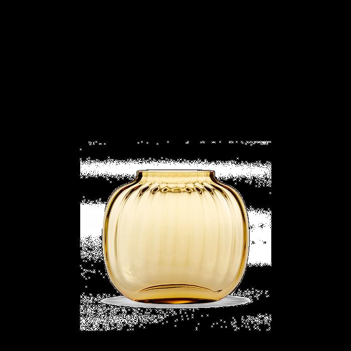 Primula Oval Vas Amber H12,5 cm