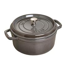 Cast Iron Pot 5,2 L Grå