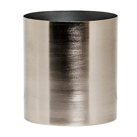 Krukke Sølv Metal 18 cm