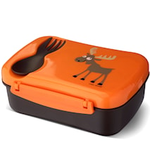 N'ice Box Matlåda med Kylblock Orange