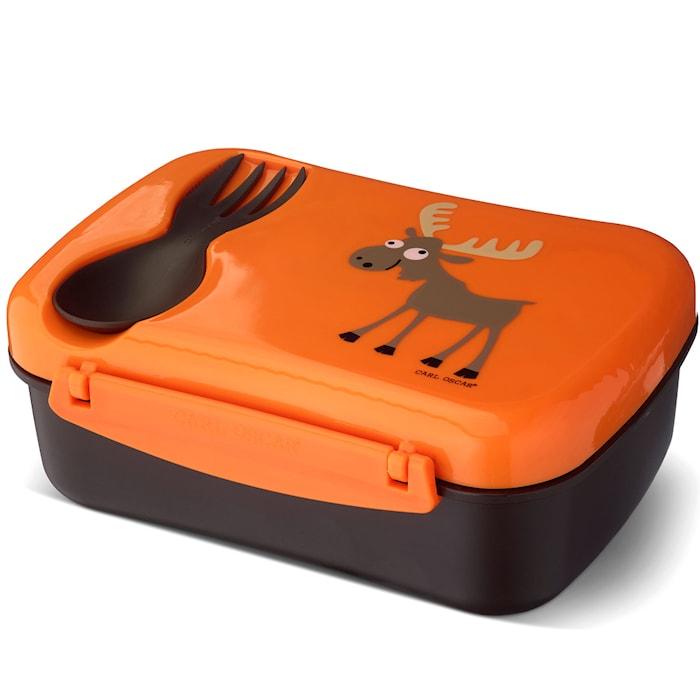 N'ice Box Matboks med Kjøleelement Oransje