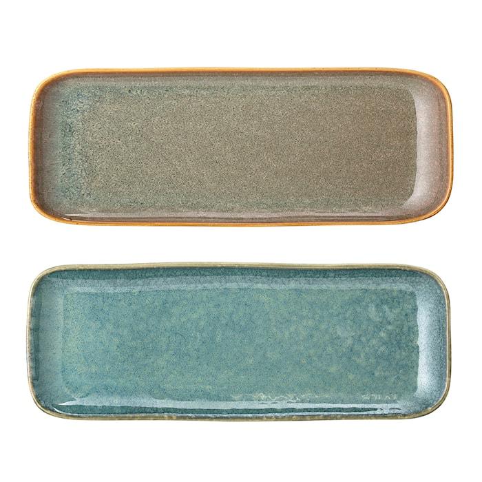 Aime Plate, Multi-color, Stoneware