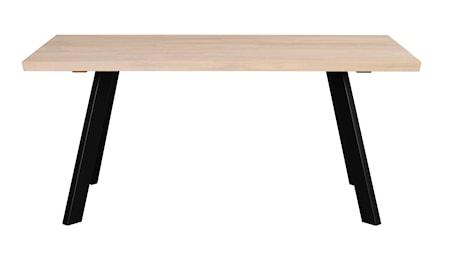 Fred matbord 170 vitpigmenterad ek/svart