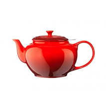 Teapot with metal sieve 1.3 L Cerise