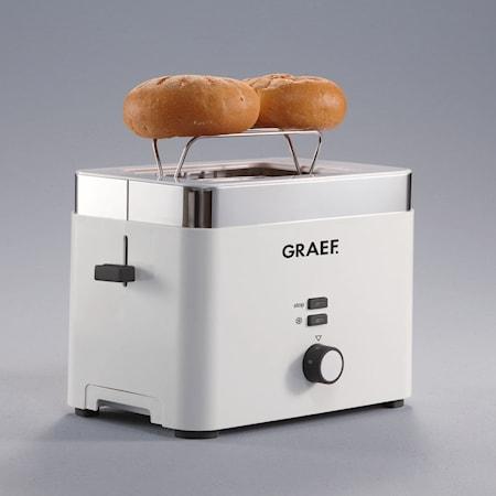 TO61 leivänpaahdin 2 siivua, valkoinen